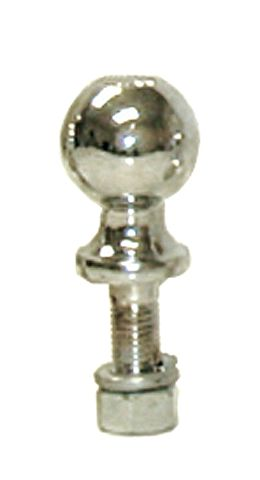 "Hitch Ball 1-7/8"" Chrome 1"" X 2-1/8"" Shank 2K"