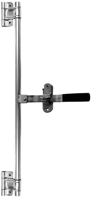 "Side Door Bar Lock Assembly Weldment W/36"" Pipe"
