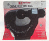 "Combination Pintle Hitch W/2"" Ball 12K"