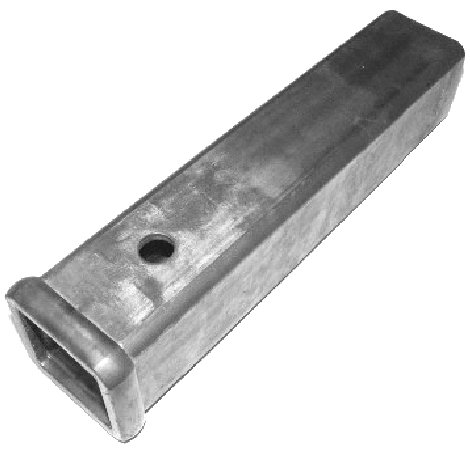 "12"" Receiver Tube For 2"" Square Hitch Bars"