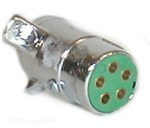 Trailer Connector 5-Pole Trailer End, Chrome