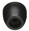 "Marine Rubber Side Guide End Cap 2-1/2"" X 5/8""I.D. Hole"
