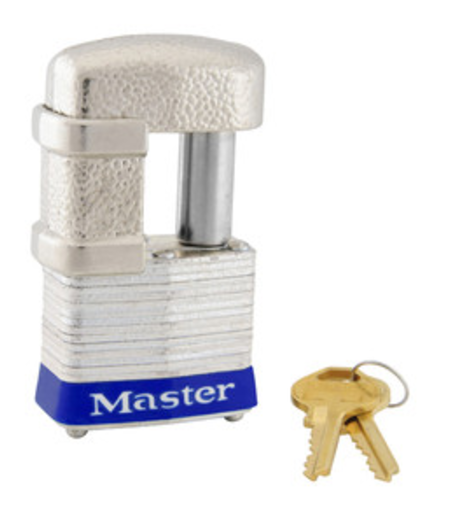 "Masterlock Trig Lock For 2-5/16"" Cplr, 9/32"" Or 1/2""Shackle Dia"