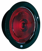 Tail Light Red Reflective, Stop, Turn, Flush Mount, Vibar Socket