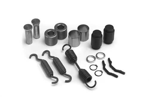 "Brake Shoe Repair Kit, For Dexter 12-1/4"" Pq Shoes"
