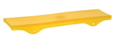 "Keel Pad 3-1/2""x15"" Fits 3"" Cross Beam Amber PVC"