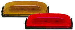 Thin-Line LED Kit, Clearance/Marker Light W/Base & Plug, Amber