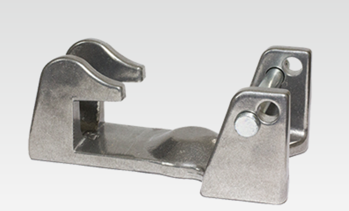 "Ez-Lock Bracket Fits Most 2-5/16"" & 3"" Gooseneck Couplers"