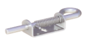 "Spring Latch, 7/16"" Pin Size, Zinc"