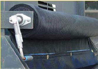 "Turbo-Tarp Roller Assembly For Trailers Up To 101""W"